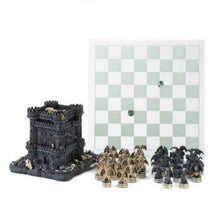 Black Tower Dragon Chess Set - Dan's Market Shop
