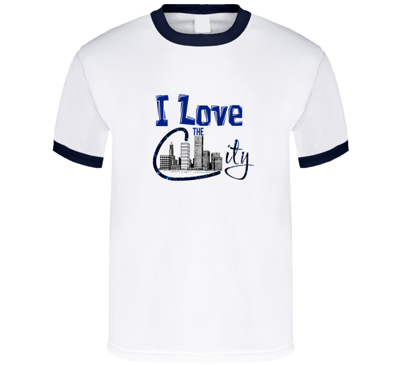 I Love the City T Shirt - Dan's Market Shop