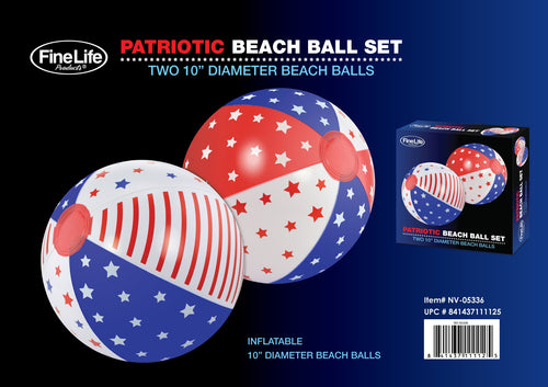 Patriotic Beach Ball Set - Dan's Market Shop