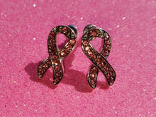 Pink Ribbon Earrings - Dan's Market Shop