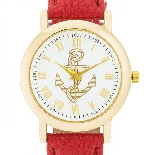 Natalie Gold Nautical Watch - Dan's Market Shop