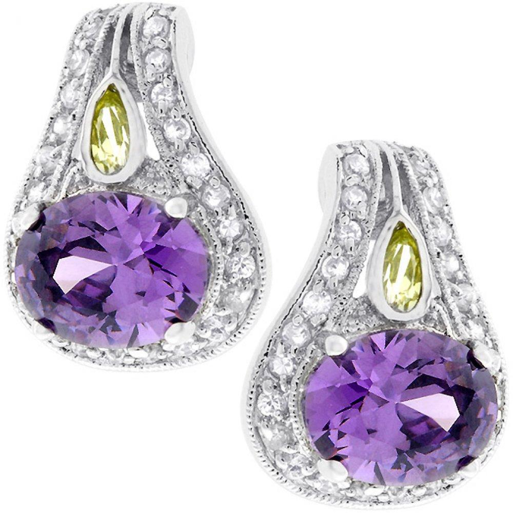 Majestic Amethyst Earrings - Dan's Market Shop