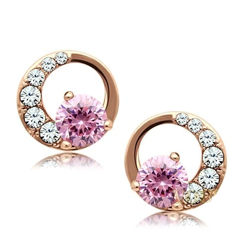 The Rose Gold Earrings - Dan's Market Shop