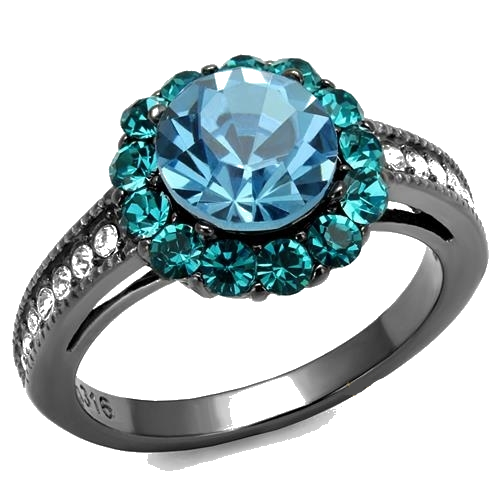 Stunning Aquamarine Ring - Dan's Market Shop
