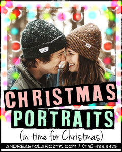 It's Not Too Early to Book Your Christmas Shoot!