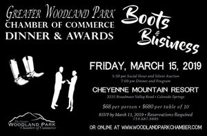 Woodland Park Chamber of Commerce Silent Auction