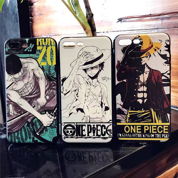 [ NEW ] 3D One Piece Phone Cases !