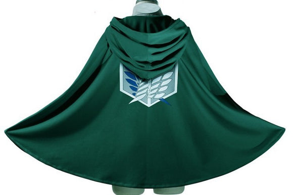 [Special Sale] Attack On Titan Survey Corps Cloak