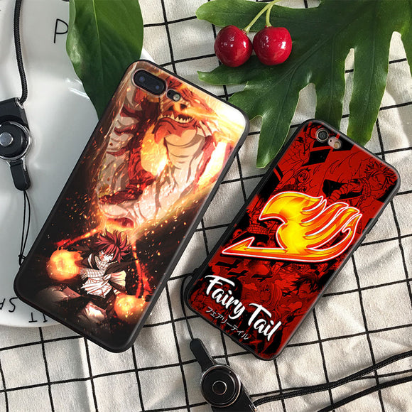 [New] Fairy Tail Phone Case and Strap