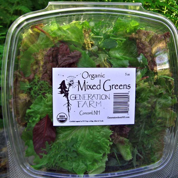 Organic Mixed Greens