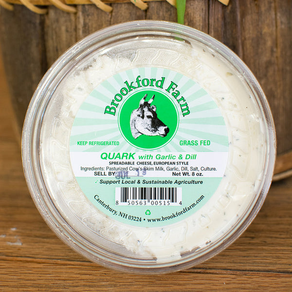 Quark Spreadable Cheese with Garlic and Dill