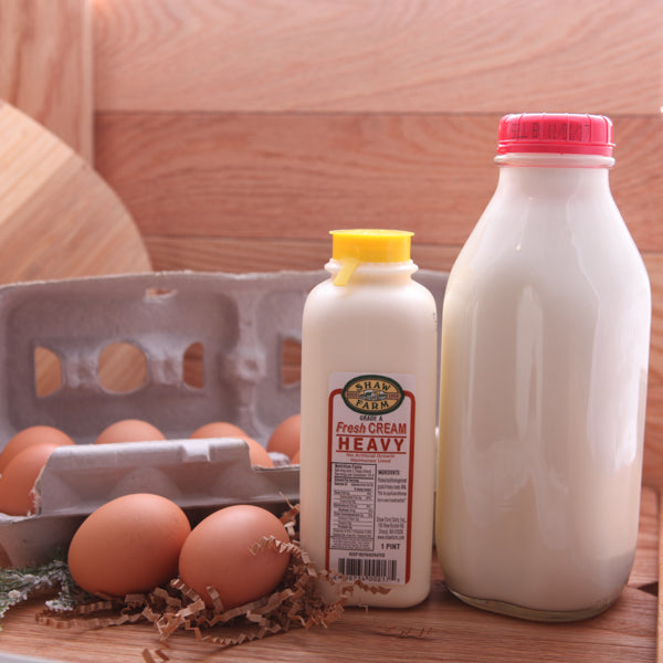 Milk, Cream and Eggs Sample Set