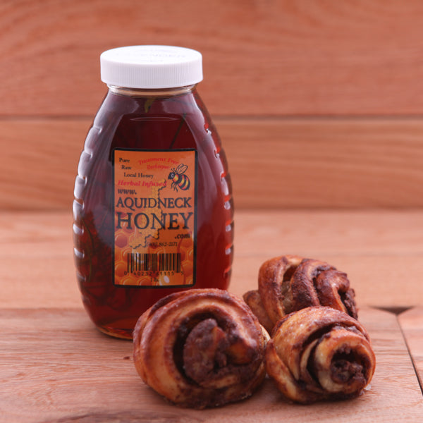 Nut Free Chocolate Rugelach and Ceylon Cinnamon Honey