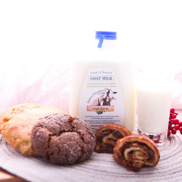 Goat Milk and Rosie's Cookies