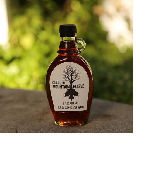 Maple Syrup Glass  8 oz