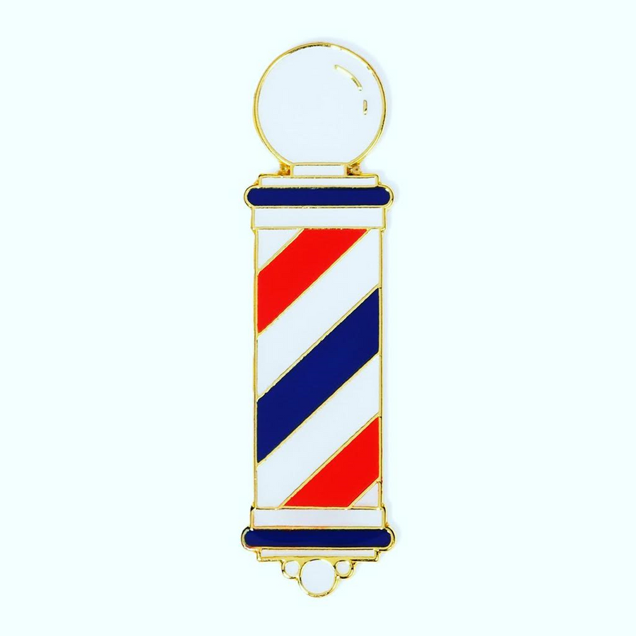 Barber Lapel Pin