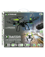Xtreme XDG61006BLK Mini Raptor 6 Axis Quadcopter Drone - Goodies Online Store