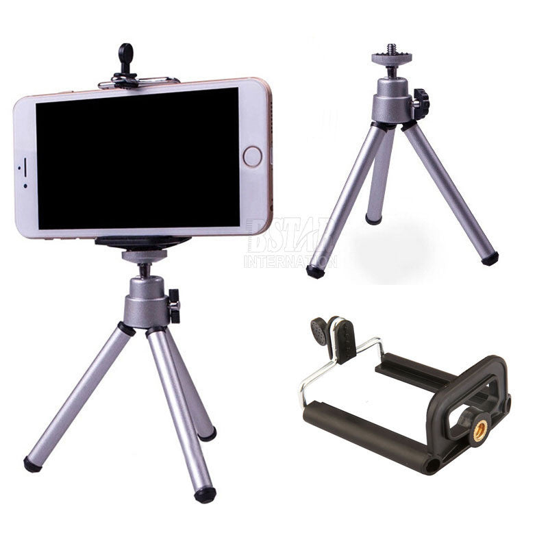 Tripod + Clip Stand Bracket Holder Mount Adapter For Gopro Camera Digital Camera Self-Timer Smartphones For iphone Samsung - Goodies Online Store