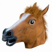 Halloween Horse Head - Funky Latex Mask - Goodies Online Store