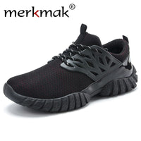 Merkmak Newly Spring Breathable Casual Men Shoes Fashion Style Footwear Durable Men Flats Breathable Men Shoes Zapatilla Hombres - Goodies Online Store