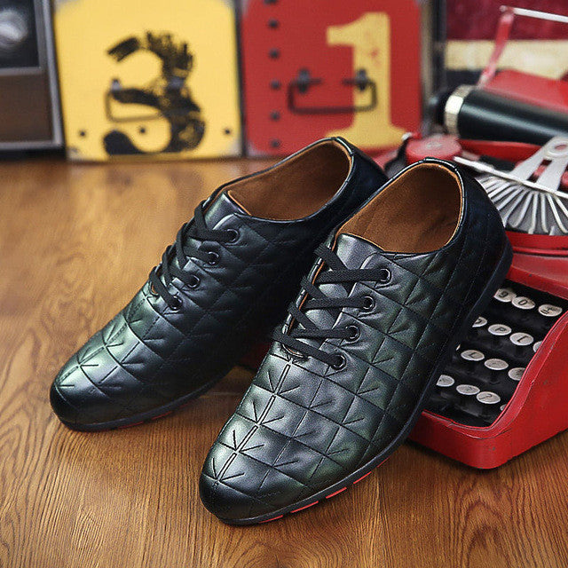 Merkmak Leisure Softly Shoes Men Fashion Breathable PU Leather Casual Summer Men Flats Footwear Male Shoes Mocassins Wholesales - Goodies Online Store