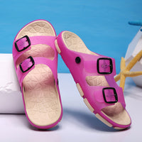 Merkmak Shoes's Men 2017 Parenting Unisex Casual Summer Beach Sandals Slippers Candy Color Lover Outdoor Flats for BigSize 34-45 - Goodies Online Store