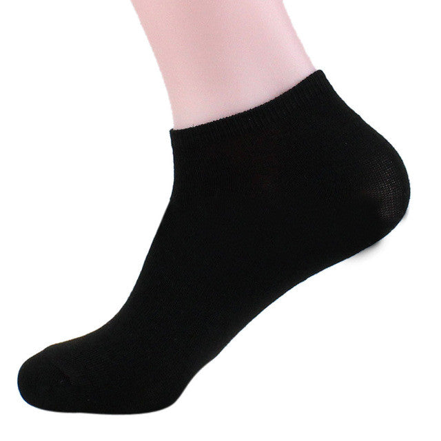 JECKSION Men Ship Boat Short Sock 2017 Fashion New Solid Cotton Ankle Invisible Socks Warm Winter - Goodies Online Store