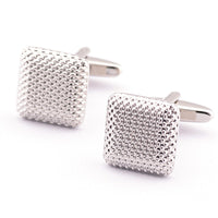 New Gentleman Men Wedding Party Gift Silver Color Cuff Link Cufflinks - Goodies Online Store