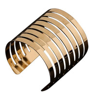 New Fashion Women's Vintage Gold  Punk Cuff Bracelet Jewelry Gold - Goodies Online Store