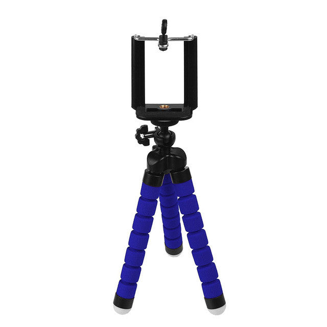 Mini Portable Flexible Tripod with Phone Holder Bracket Stand Tripod Kit for iPhone6s 7 Xiaomi Samsung HTC Cellphone DSLR - Goodies Online Store