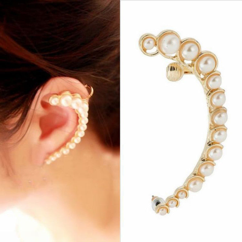 Women Ear Cuff Stud Earring - Goodies Online Store