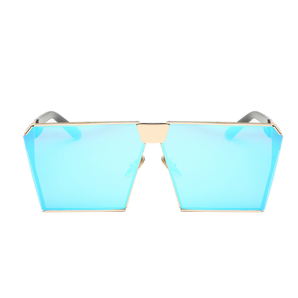 Women Men Vintage Retro Glasses Unisex Fashion Aviator Mirror Lens Travel Sungla - Goodies Online Store