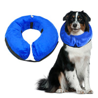 Protective Inflatable Collar Pet Cone E-Collar Soft Pet Recovery Collar - Goodies Online Store