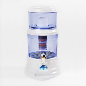 ALPS Alkalising Water Filtration Unit 12L - Comes With A FREE Bottle Of Our Organic Rose Petal Sugar Scrub!