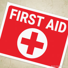 First Aid Printable Sign