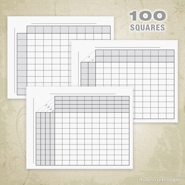 100 Football Sports Pool Squares Printable (editable)