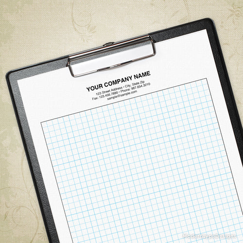 Graph Paper Printable for Clipboard (editable)