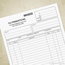 Load image into Gallery viewer, Invoice Form Printable (editable)