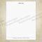 Letterhead Printable Simple Design 2 (editable)