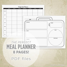 Load image into Gallery viewer, Meal Planner Printable Kit