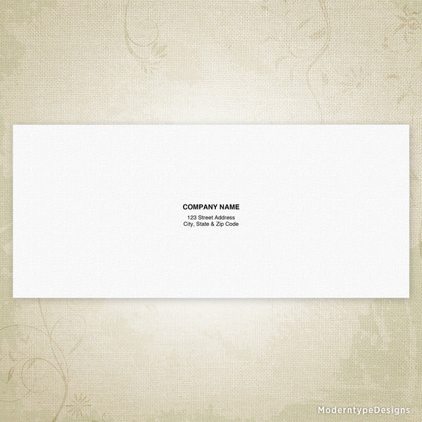 No. 9 Reply Envelope Printable (editable)