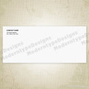 No. 9 Standard Envelope Printable (editable)