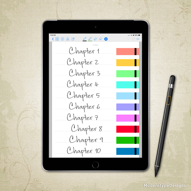 Digital Notebook Planner