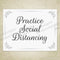Practice Social Distancing Printable Sign