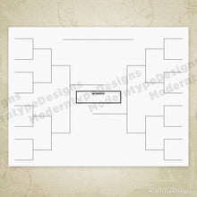 Load image into Gallery viewer, Sports Brackets Printable