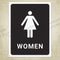 Restroom for Women & Men Printable Signs