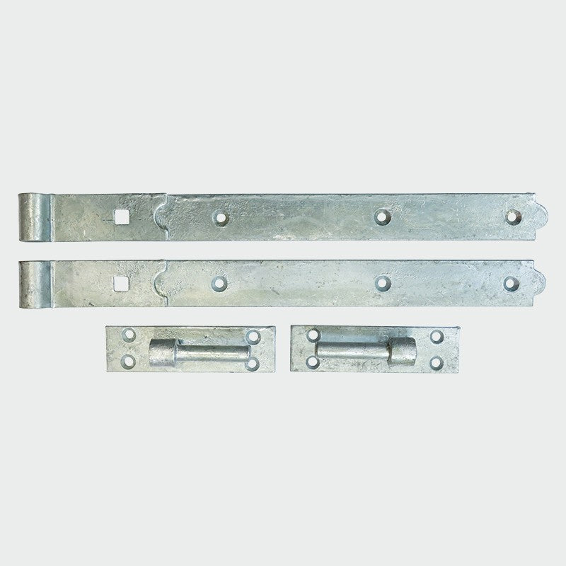 "Straight Hook and Band 600mm (24"") Galvanised"