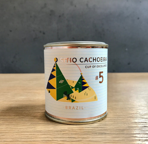 COE No.5 BRAZIL | Sitio Cachoeira | Cataui | Natural (100gms)