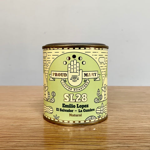 LIMITED EDITION El Salvador | Emilio Lopez | SL28 | Natural | 100gm tin