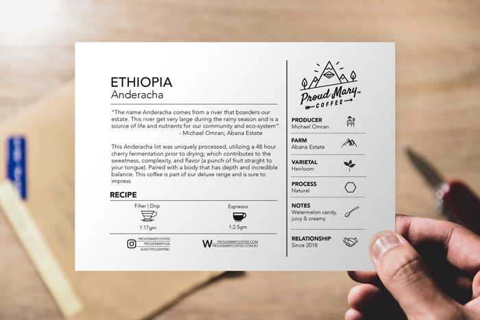 DELUXE | ETHIOPIA | Anderacha | Heirloom | Natural